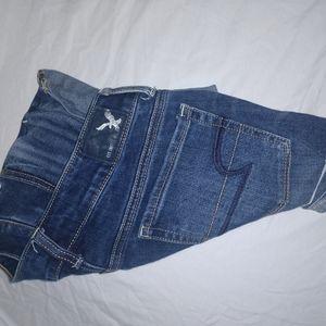 💚4/$30 American Eagle Shortie Shorts Dark …